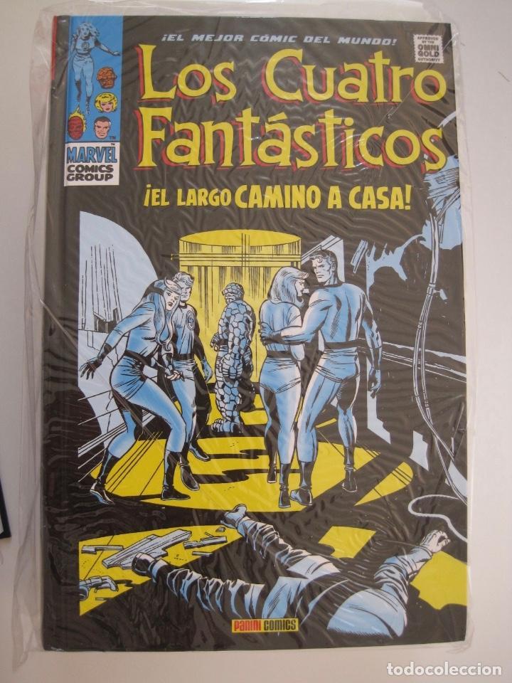 Cómics: LOS 4 CUATRO FANTASTICOS--MARVEL GOLD OMNIGOLD--MARVEL PANINI --7 TOMOS--NUEVOS - Foto 16 - 171175364
