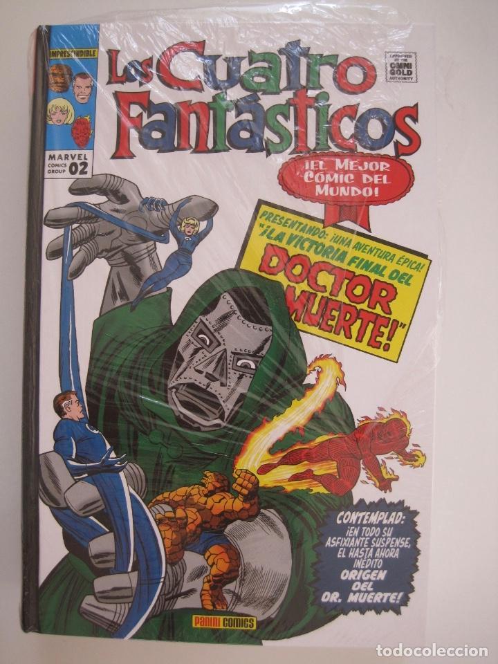 Cómics: LOS 4 CUATRO FANTASTICOS--MARVEL GOLD OMNIGOLD--MARVEL PANINI --7 TOMOS--NUEVOS - Foto 17 - 171175364