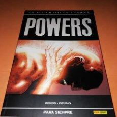 Cómics: POWERS . PARA SIEMPRE. INCLUYE LOS Nº 30 AL 37. MUY BUEN ESTADO. Lote 171401677