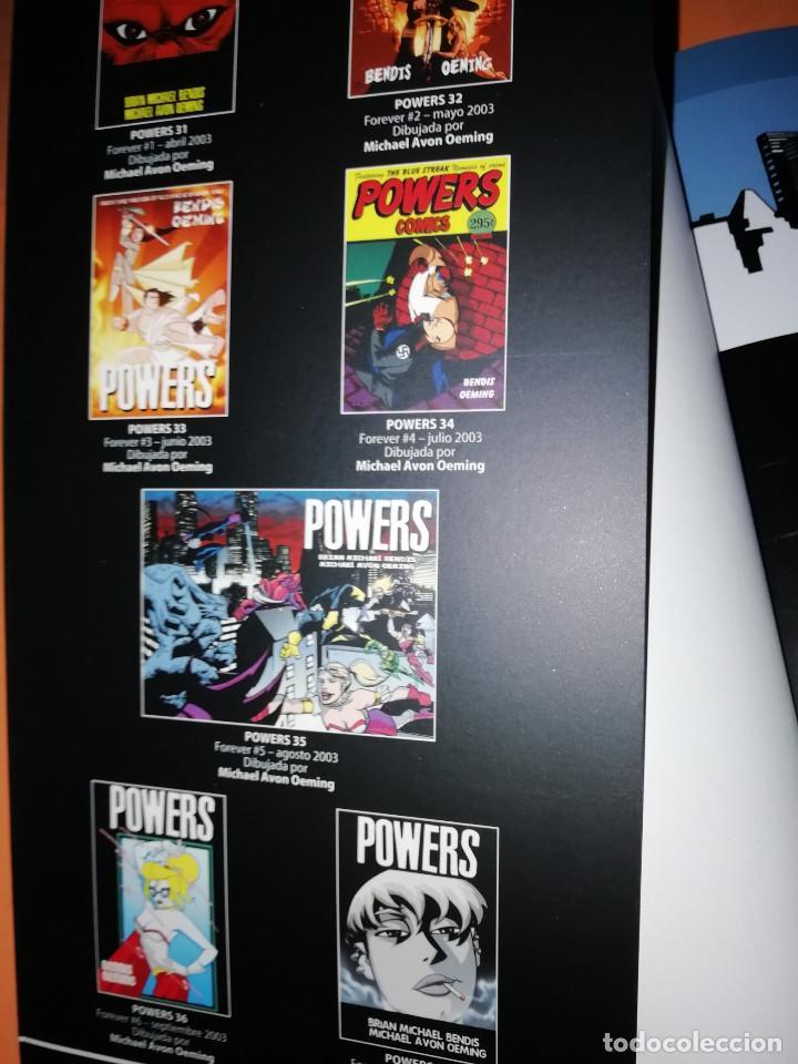 Cómics: POWERS . PARA SIEMPRE. INCLUYE LOS Nº 30 AL 37. MUY BUEN ESTADO - Foto 5 - 171401677