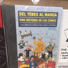Cómics: TEBEO AL MANGA . UNA HISTORIA DE LOS CÓMICS . PANINI COLECCION COMPLETA. Lote 171582079