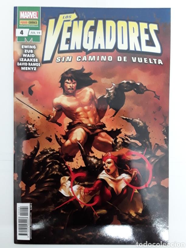 LOS VENGADORES SIN CAMINO DE VUELTA 4 (GRAPA) - PANINI / MARVEL (Tebeos y Comics - Panini - Marvel Comic)
