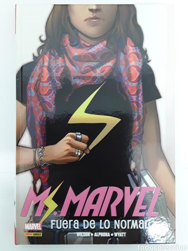 MS. MARVEL 1. FUERA DE LO NORMAL (OMNIBUS) - WILSON, ALPHONA, WYATT - PANINI / MARVEL (Tebeos y Comics - Panini - Marvel Comic)