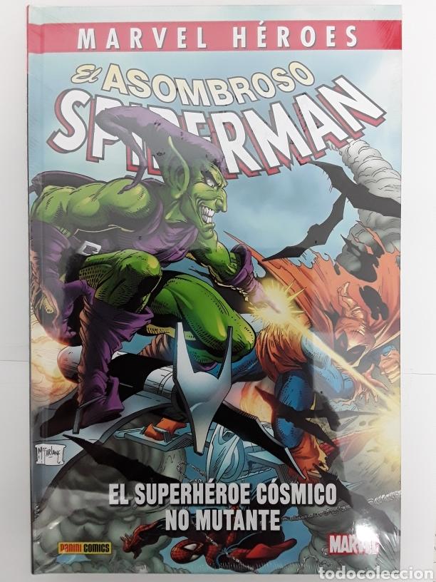MARVEL HÉROES. EL ASOMBROSO SPIDERMAN. EL SUPERHÉROE CÓSMICO NO MUTANTE - PANINI / MARVEL (Tebeos y Comics - Panini - Marvel Comic)