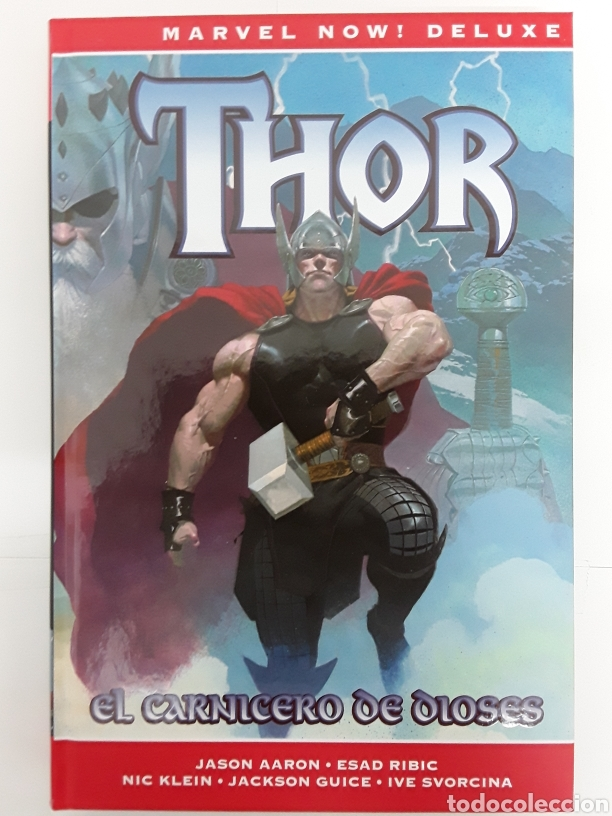 THOR 1. EL CARNICERO DE DIOSES(MARVEL NOW) -AARON, RIBIC, KLEIN, GUICE, SVORCINA - PANINI / MARVEL (Tebeos y Comics - Panini - Marvel Comic)