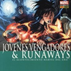 Comics: JÓVENES VENGADORES & RUNAWAYS (CIVIL WAR). Lote 171678269