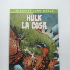 Cómics: HULK LA COSA A GOLPES (100% MARVEL). Lote 171738362