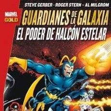 Cómics: MARVEL GOLD LOS GUARDIANES DE LA GALAXIA: EL PODER DEL HALCÓN ESTELAR - STERN GERBER MILGROM PANINI. Lote 171753777