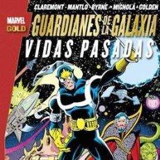 Cómics: MARVEL GOLD LOS GUARDIANES DE LA GALAXIA: VIDAS PASADAS - MAPACHE COHETE & STAR LORD. Lote 171753979