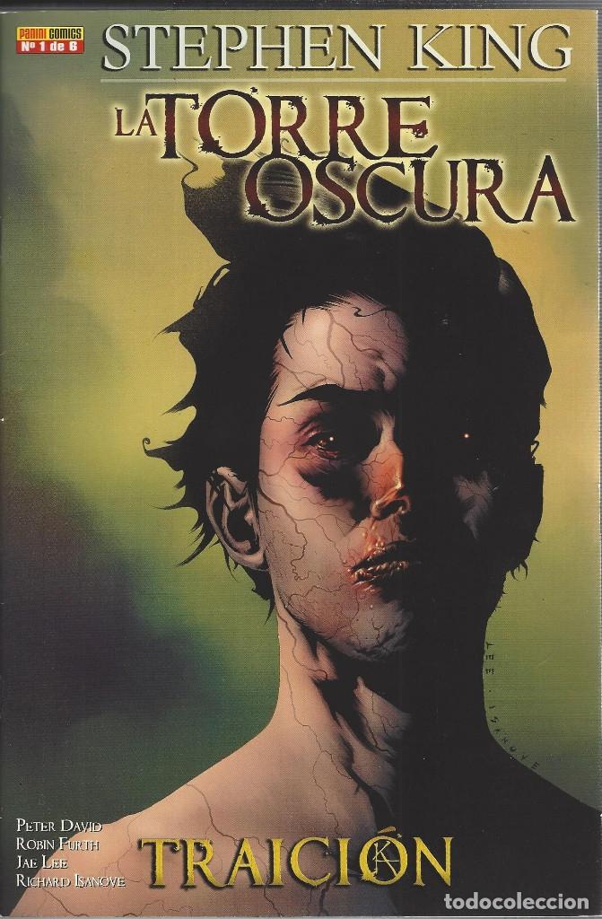 LA TORRE OSCURA : TRAICION -STEPHEN KING - COMPLETA 6 NUMEROS - PANINI - NUEVA A ESTRENAR (Tebeos y Comics - Panini - Otros)