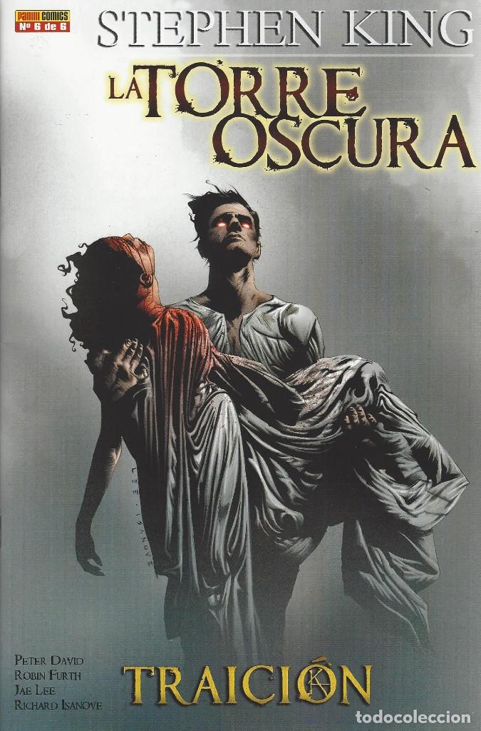 Cómics: LA TORRE OSCURA : TRAICION -STEPHEN KING - COMPLETA 6 NUMEROS - PANINI - NUEVA A ESTRENAR - Foto 2 - 172145028