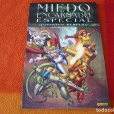 Cómics: MIEDO ENCARNADO ESPECIAL JUVENTUD REBELDE ( MCKEEVER ) ¡MUY BUEN ESTADO! MARVEL PANINI. Lote 172160195