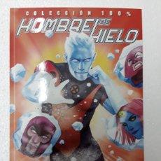 Cómics: HOMBRE DE HIELO 1. DESCONGELADO (COLECCIÓN 100%) - GRACE, VITTI, SALAZAR - PANINI / MARVEL. Lote 172224779