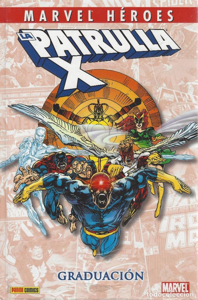MARVEL HEROES PATRULLA X: GRADUACION TOMO PRECINTADO A ESTRENAR (Tebeos y Comics - Panini - Marvel Comic)