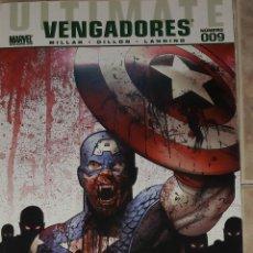 Cómics: ULTIMATE VENGADORES N 9 MILLAR DILLON LANNING BLADE VS LOS VENGADORES PANINI COMICS. Lote 197600581