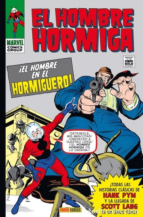 OMNIGOLD HOMBRE HORMIGA MARVEL GOLD (Tebeos y Comics - Panini - Marvel Comic)