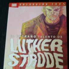 Cómics: EL EXTRAÑO TALENTO DE LUTHER STRODE. Lote 173000287
