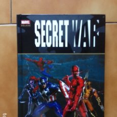 Cómics: MARVEL DELUXE SECRET WAR - BRIAN MICHAEL BENDIS Y GABRIELE DELL'OTTO - PANINI. Lote 173393070