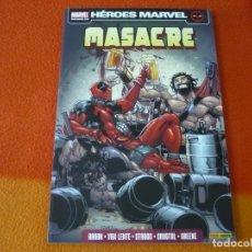 Cómics: MASACRE 5 TEAM-UP ( AARON VAN LENTE ) ¡MUY BUEN ESTADO! HEROES MARVEL PANINI. Lote 173410129