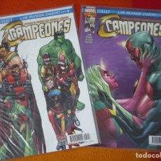 Cómics: CAMPEONES NºS 13 Y 14 MARVEL LEGACY ( WAID RAMOS ) ¡MUY BUEN ESTADO! PANINI . Lote 173435187