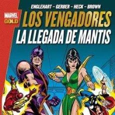 Cómics: MARVEL GOLD LOS VENGADORES TOMO 3 LA LLEGADA DE MANTIS PANINI. Lote 173654747