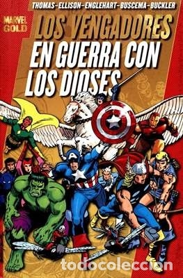 MARVEL GOLD LOS VENGADORES TOMO 2 EN GUERRA CON LOS DIOSES (Tebeos y Comics - Panini - Marvel Comic)