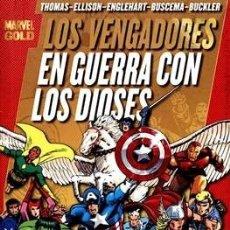 Cómics: MARVEL GOLD LOS VENGADORES TOMO 2 EN GUERRA CON LOS DIOSES. Lote 173655068
