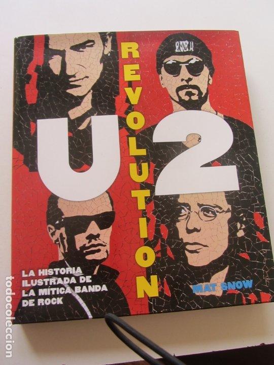 U2 REVOLUTION. LA HISTORIA ILUSTRADA DE LA MÍTICA BANDA DE ROCK TAPA DURA (Tebeos y Comics - Panini - Marvel Comic)