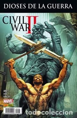 CIVIL WAR 2 II: CROSSOVER Nº 2 HÉRCULES: DIOSES DE LA GUERRA (Tebeos y Comics - Panini - Marvel Comic)