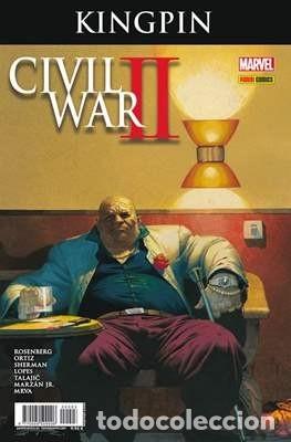 CIVIL WAR 2 II CROSSOVER Nº 3 KINGPIN - PANINI - ROSENBERG (Tebeos y Comics - Panini - Marvel Comic)