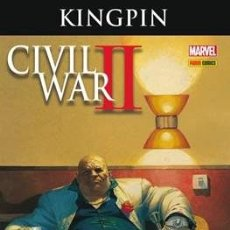 Cómics: CIVIL WAR 2 II CROSSOVER Nº 3 KINGPIN - PANINI - ROSENBERG. Lote 174250972