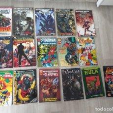 Cómics: LOTE 16 COMICS TOMOS PANINI FORUM MARVEL VENGADORES X-MEN SPIDERMAN PUNISHER. Lote 174329087