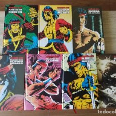 Cómics: 7 TOMOS LIMITED EDITION SHANG-CHI COMPLETA MARVEL PANINI IMPECABLES. Lote 174528642