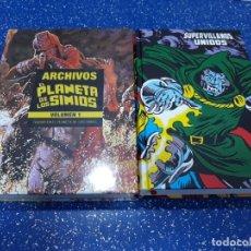 Cómics: MARVEL LÍMITES EDITION EL PLANETA DE LOS SIMIOS + SUPERVILLANOS UNIDOS. Lote 174541645