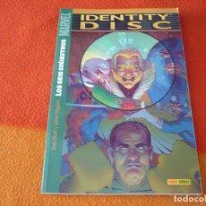 Cómics: IDENTITY DISC LOS SEIS SINIESTROS ( HIGGINS ) ¡BUEN ESTADO! MARVEL PANINI. Lote 174873044