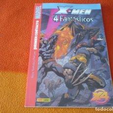 Cómics: X MEN LOS 4 FANTASTICOS PRIMER CONTACTO ( YOSHIDA PAT LEE ) ¡BUEN ESTADO! MARVEL PANINI. Lote 174873644
