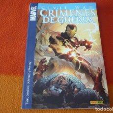 Cómics: CRIMENES DE GUERRA CIVIL WAR ( TIERI JENKINS ) ¡MUY BUEN ESTADO! MARVEL PANINI. Lote 174874939