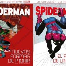 Cómics: SPIDERMAN - NUEVAS FORMAS DE MORIR + EL RASTRO DE LA ARAÑA - PANINI SALVAT. Lote 175237823