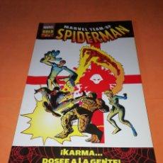 Cómics: SPIDERMAN. MARVEL TEAM UP. MARVEL GOLD N° 11. KARMA.. POSEE A LA GENTE.. Lote 175483459