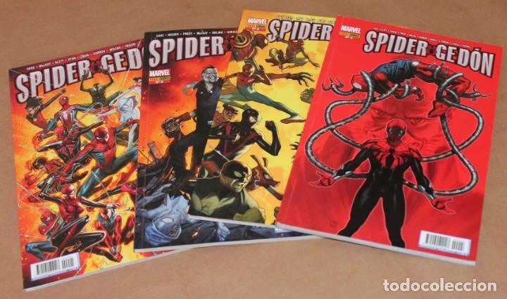 SPIDERGEDÓN 1 2 3 4 - ED PANINI - COMO NUEVOS - SPIDER GEDON - TAMBIÉN SUELTOS (Tebeos y Comics - Panini - Marvel Comic)