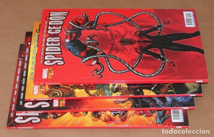 Cómics: SPIDERGEDÓN 1 2 3 4 - Ed PANINI - como nuevos - spider gedon - También sueltos - Foto 2 - 176055209