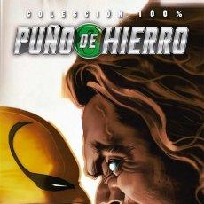 Cómics: COL. 100 % MARVEL HC PUÑO DE HIERRO Nº 2 DIENTES DE SABLE SEGUNDO ASALTO - PANINI - IMPECABLE OFF15. Lote 176172789