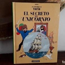 Cómics: TINTÍN EL SECRETO DEL UNICORNIO, PANINI ESPAÑA, DESCATALOGADO. Lote 176182635