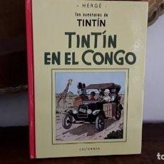 Cómics: TINTÍN EN EL CONGO, PANINI, DESCATALOGADO. BLANCO/NEGRO. Lote 176182923