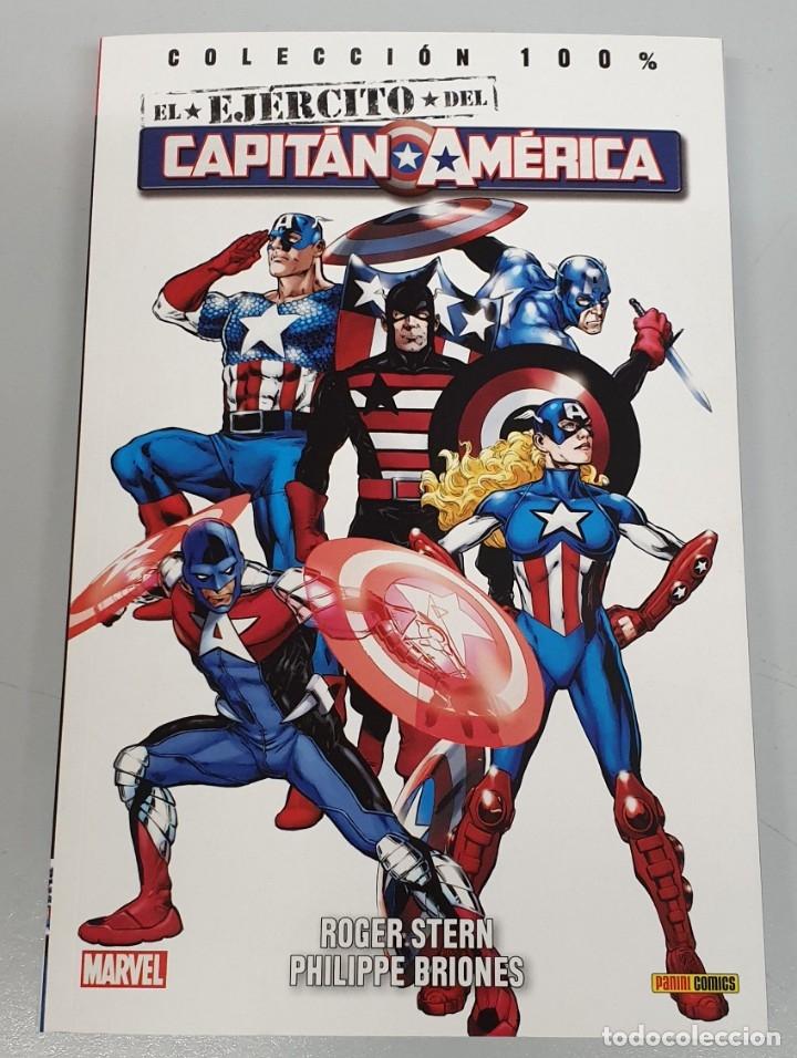 EL EJERCITO DEL CAPITAN AMERICA - COLECCION 100% - ROGER STERN - PHILIPPE BRIONES / (Tebeos y Comics - Panini - Marvel Comic)