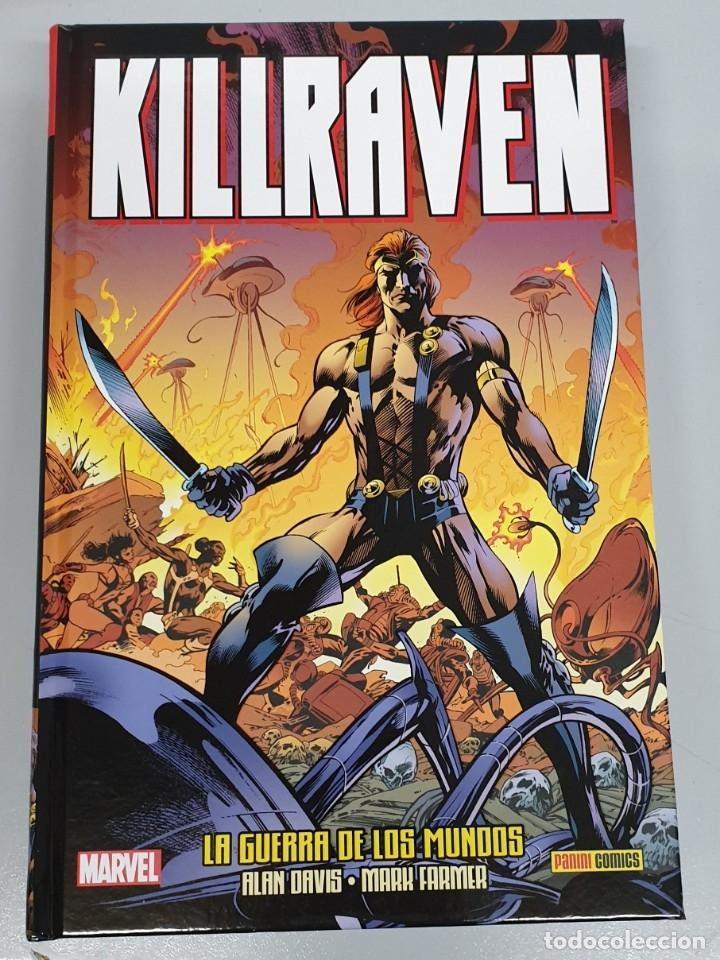 KILLRAVEN : LA GUERRA DE LOS MUNDOS - ALAN DAVIS - MARK FARMER / MARVEL PANINI (Tebeos y Comics - Panini - Marvel Comic)