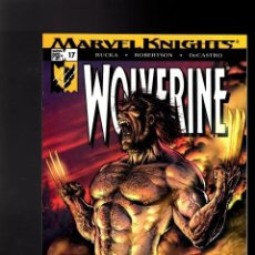 Cómics: MARVEL KNIGHTS WOLVERINE 17 LOBEZNO EN INGLES PORTADA GUAPISIMA. Lote 176609667
