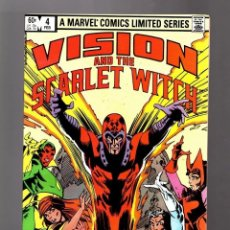 Cómics: VISION AND SCARLET WITCH 4 LA VISION Y LA BRUJA ESCARLATA EN INGLES NO FORUM. Lote 176609938