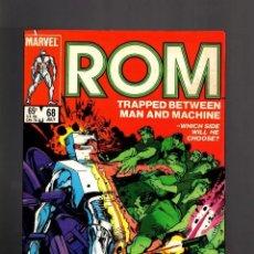 Cómics: ROM SPACEKNIGHT 68 MARVEL BILL MANTLO & STEVE DITKO EN INGLES NO FORUM NO PANINI. Lote 176610194