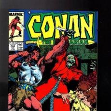 Cómics: CONAN THE BARBARIAN 203 CONAN EL BARBARO EN INGLES MARVEL NO FORUM. Lote 176611200